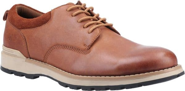 Hush Puppies Dylan Lace Mens Shoes Tan